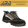 cuero genuino aceite y resistencia al deslizamiento mens zapatos de seguridad