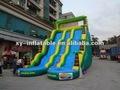 2014 venta caliente baratos inflables toboganes de agua para la venta/gigante de diapositivas inflables del agua para adultos