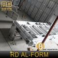 RD China, RD Proveedor buen efecto diseñado rascacielos alu encofrado