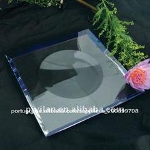 agradável de frutas de vidro tigela conjunto garfo frutas conjunto de tigela de vidro opala conjunto