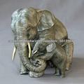 elefantes de bronce, escultura estatua elefante grande