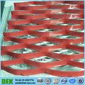 De acero inoxidable- de acero de seguridad estándar de metal expandido listón