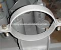 hecho en china pintado de zinc plateado ronda soportes de tuberías