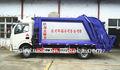 un buen rendimiento 6m3 dongfeng camión compactador de basura