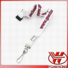 1.5*90 cm desmontable cordón de poliéster blanco