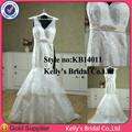 elegante cordón del amor de la sirena vestidos de novia elegantes