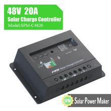 spm 48v 20a pwm controlador de carga solar