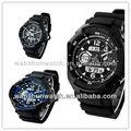 2014 s de choque da marca Dual Time papéis relógios para homens / relógio / relógio do esporte hora dual / relógio suíço