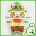 personalizado juguete animal/crochet tejida sombreros animal/mejor juguetes hechos peluches de china/animal de peluche teemo
