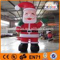 comercial caliente baratos de navidad inflable en movimiento de dibujos animados