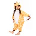jirafa kigu cosplay traje de los niños al por mayor de los animales pijama onesie pijamas