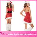 venta al por mayor sexy navidad santa vixen danza traje de las niñas