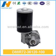 Utiliza imán permanente motor de corriente continua con el plástico/artes de bronce( d88r72- 36120- 100)