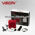 amplificador de voz portátil para guia turístico e vendas