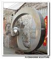 QS-S-007 Escultura Abstracta de Acero Inoxidable, Escultura Abstracta Grande