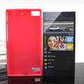 El precio de fábrica!!! Pudín de suave caso de tpu para blackberry z3( modelos y colores y ser customed)