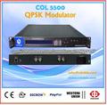 modulador QPSK, dvb-s COL5500 modulador