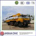 8 toneladas grúa de brazo hidráulico para camiones