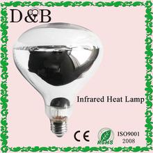 R40 r125 incandescente de reptiles/el calentamiento de alimentos- vidrio duro de calor infrarrojo de la lámpara