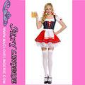 ML5421 Novedad Belleza Cerveza Chica sexy traje Venta sexy traje alemán