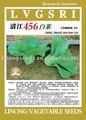 De semillas de hortalizas: no hay qingjiang. Col 456 pak choi semilla