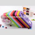Diseño de moda del arco iris de frijol m&m para samsung galaxy s5 mm caso