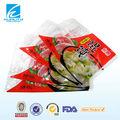 materiales de empaque de alimentos congelados de plástico