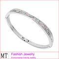 Productos innovadores para la importación brazaletes cristalinos de lujo