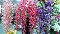 cabezas 5 flor artificial decorativa 5 cabezas de baile de flores para la decoración de interiores
