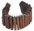 Hecho a mano de madera artesanal kokiriko, fabricante de sonido kokiriko artesanal