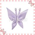 Hecho a mano de la moda rosa diseño 100% de poliéster de la cinta de flores