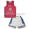 venta caliente personalizado sublimación de uniformes de baloncesto para las mujeres