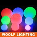 3d que cambia de color led del estado de ánimo de pelota de luz