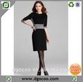 nuevo diseño de poliéster de la rodilla longitud trajes formales para el tamaño más mujeres