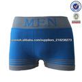 Seamless al por mayor ropa interior hombre boxer corto