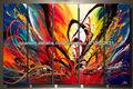 abstracto pintura al óleo sobre lienzo