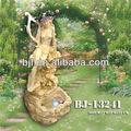 de piedra arenisca jardín estatua flotante estanque fuentes