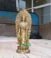 Brass estatua de Buda de pie