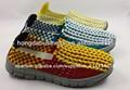 zapatos tejidos mano de la manera 2014