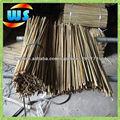 Productos de granja/corto postes de bambú para granja