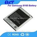 3.7v de iões de lítio para samsung gt-i8160 telefone android com longa vida útil da bateria acessórios para móveis de dubai