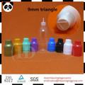 de vapor del líquido 20ml frasco gotero de plástico a prueba de niños tapa de sabotaje