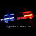 De color rojo y azul de la policía/coche ambulancia de emergencia led de advertencia barra de luz estroboscópica para la venta