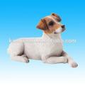 la escultura del perro estatuilla de resina pequeños animales