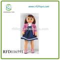 18 pulgadas muñeca american girl con la ropa