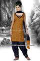 algodón vestido de satén sin trabajo en peru y oscuro color azul marino