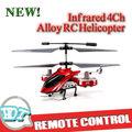 Infrarrojos 4ch aleación rc helicóptero, 4ch helicóptero de la aleación