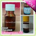 Farwell calidad caliente de la venta 100% puro natural de Wintergreen aceite usado en Inflamación y dolor CAS 68917-75-9 (Metil