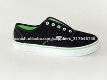 nuevo estilo de zapatos de lona más cómodo para adolescentes