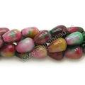 venta al por mayor de lágrima facetas cuentas de jade de piedras preciosas de la moda de cuentas para la artesanía